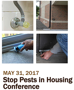 Stop Pests in Houseing Conference Flyer