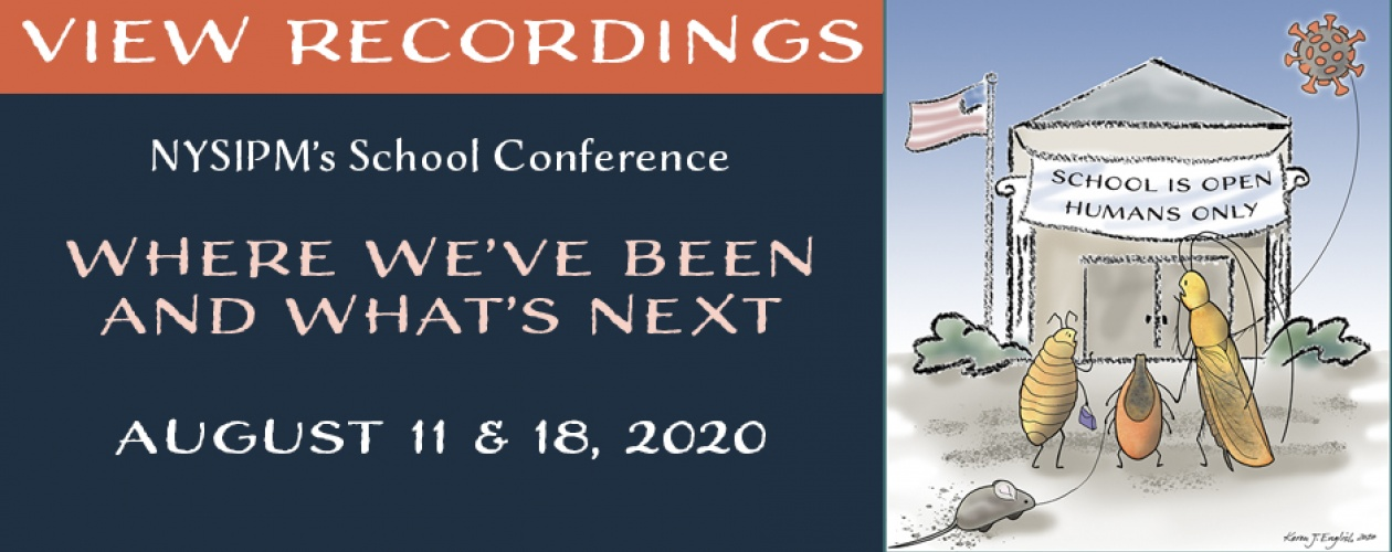 View Recordings of NYSIPM's School Conference: Where We've Been, and What's Next.